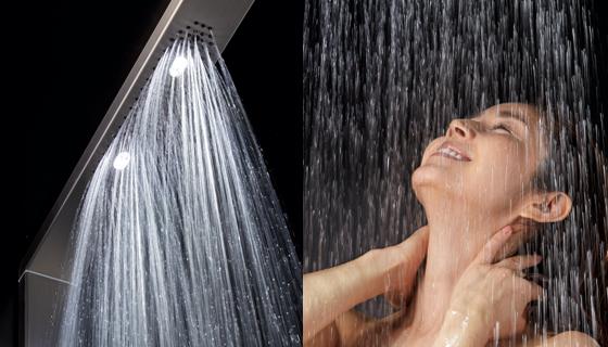 夏のシャワーが快適に オーバーヘッドシャワー
