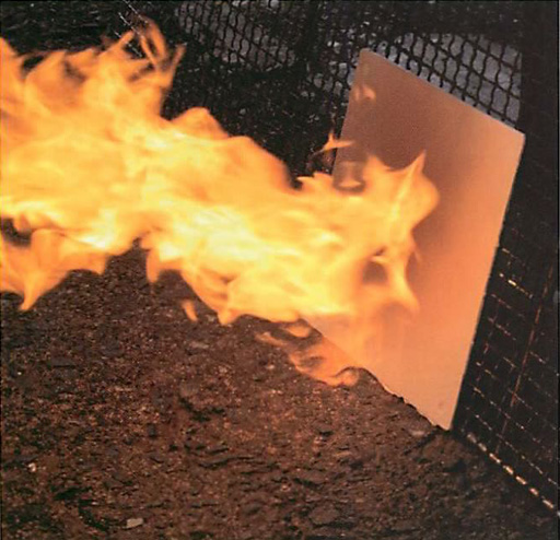 ガイナの耐火性能 火災に強いガイナ
