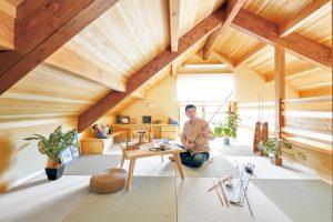 ロフトスペース。天然木の「ひらやの家」モニター募集!150万円分の家具プレゼント!