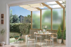 ガーデンルームの増設