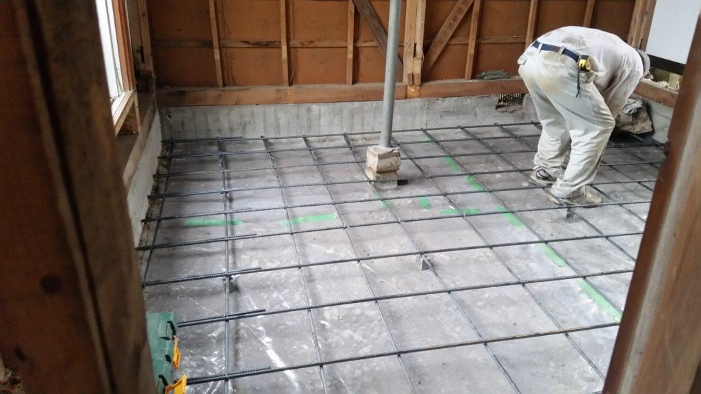 基礎の耐震補強工事事例写真 所沢市の耐震リフォーム