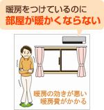 部屋が寒くて耐えられない!解決します内窓の設置リフォーム
