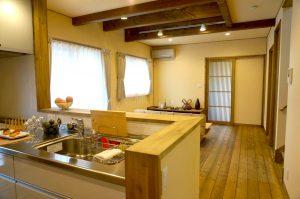 所沢市で建てたフリープラン注文住宅「天然木の家」