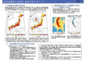 2020年度版全国地震動予測マップ