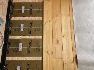 床暖房の施工事例 所沢市事例写真